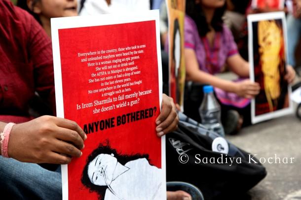 March at Jantar Mantar