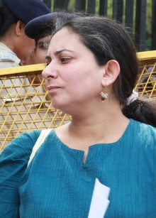 Deepti Sharma from The Voices Against 377, has been supporting the cause since 2000.