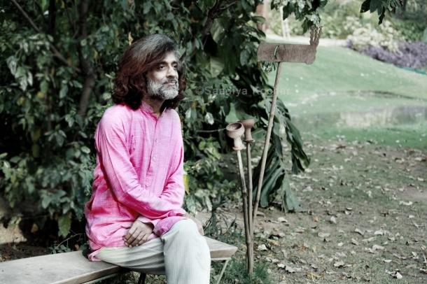 Ashwin Bharti, founder of Zorba the Buddha.