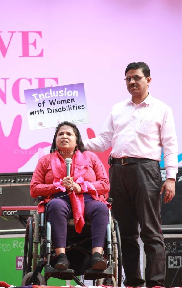 Anjlee Agarwal, from the Women With Disabilities India Network.