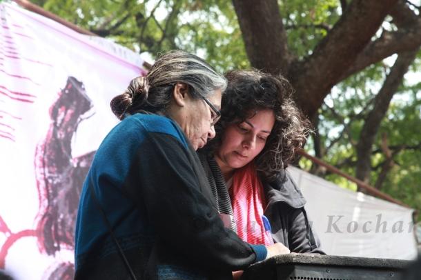 Deepti Sharma at Aath March Saath March.