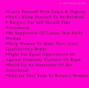 The Feminine Code By Shirin Hasrat.