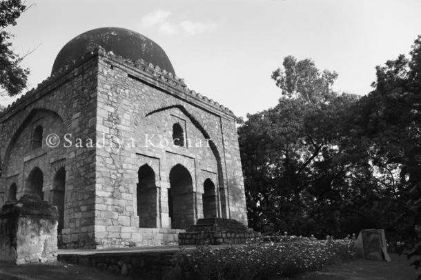 Barah Khamba Monument Hauz Khas