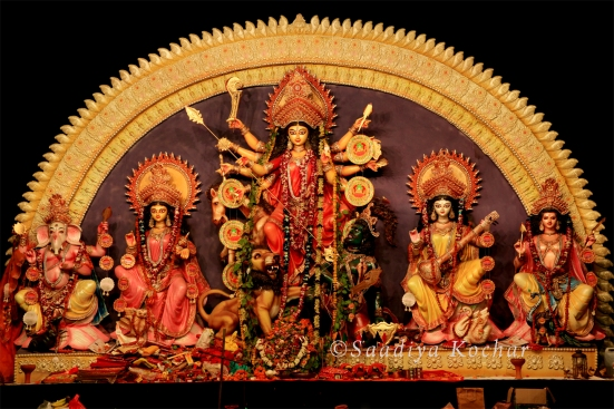 Durga Puja Pandal in Cr Park