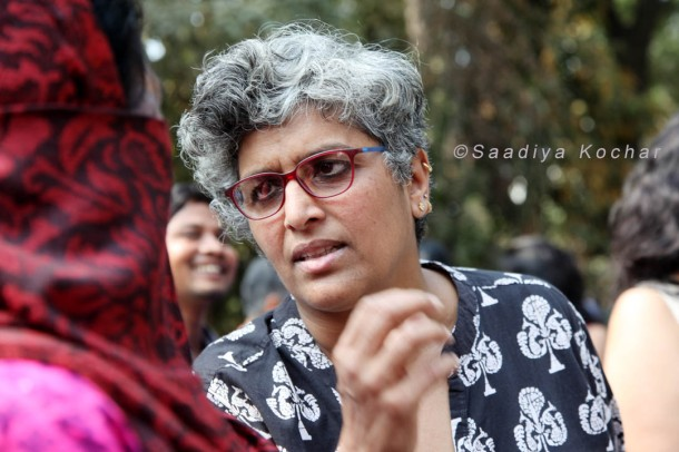 Vani Subramanian documentary film maker at Aath March Saath March