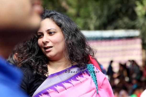 Deepti Sharma from Saheli at Aath March Saath March 2016