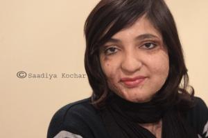 Acid Attack Fighter Gulnaaz Khan