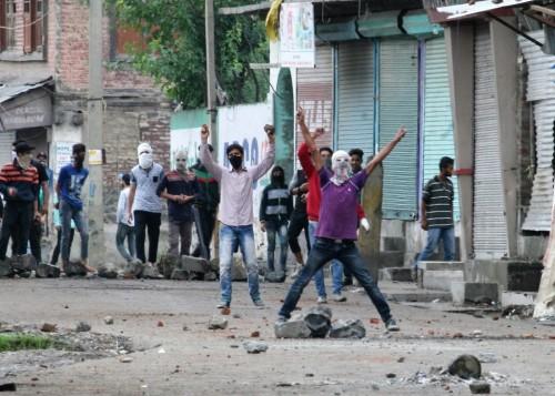 Clashes in Batamaloo