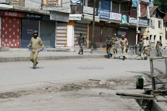 53rd day of unrest in Kashmir