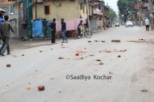 After the stone pelting in Chanpora