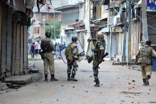 52nd day- Clashes in Batamaloo