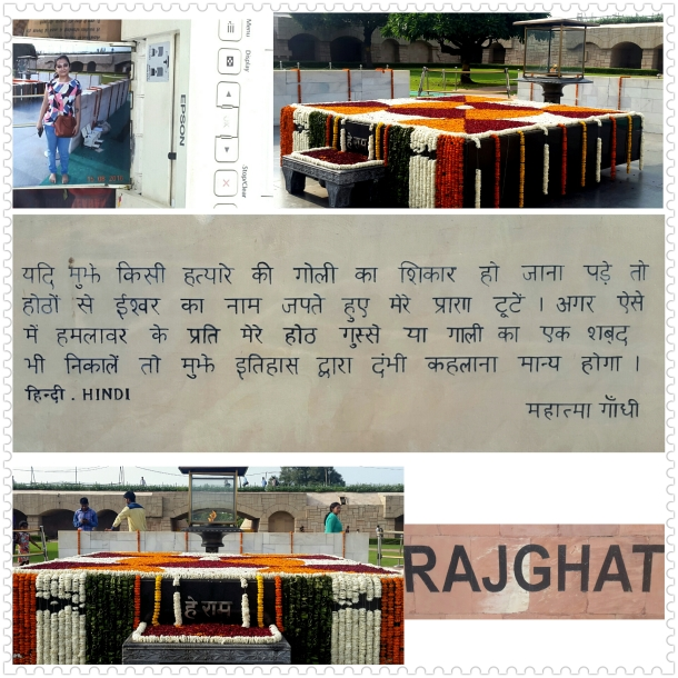 Raj Ghat on Independence Day
