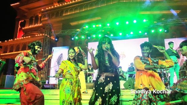 Pinky Maidasani at the bollywood dandiya raas 2016