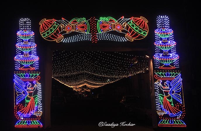Kailash Colony market Diwali