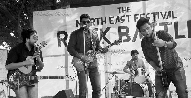 Delhi Bands at North East Rock Festival