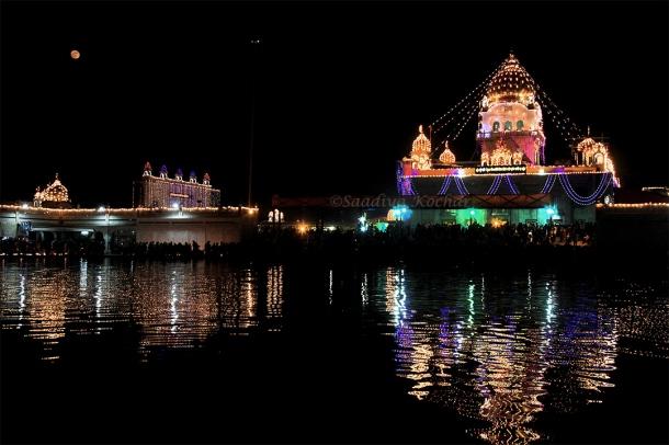 Gurupurab at Bangla Sahib Gurudwara